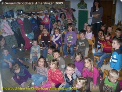 Bilderbuchkino Kinderhaus Amerdingen 2009_7
