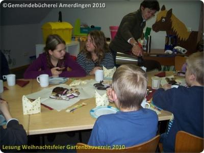 Lesung Weihnachtsfeier Gartenbauverein Amerdingen Bollstadt 2011_4
